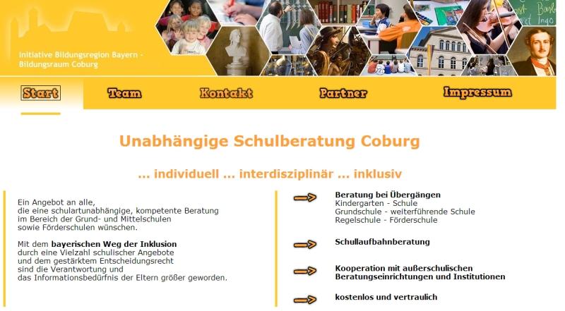 Unabhängige Schulberatungsstelle Coburg